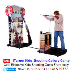 Coin Operated Arcade Shooting Galleries