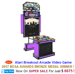 Classic / Retro Video Redemption Arcade Games
