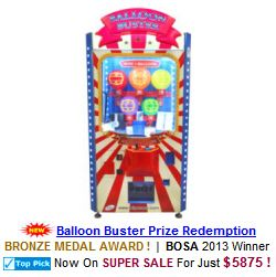 Balloon Buster Prize Redemption Game