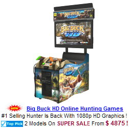 Bog Buck HD Hunting Video Arcade Games