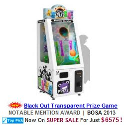 Black Out Prize Merchandiser Videmption Arcade Game