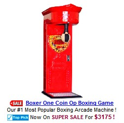 Boxer One Coin Operated Boxing Machine