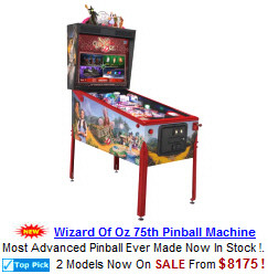 Coin Operated Pinball Machines
