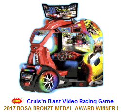 New Video Arcade Game For Sale : Cruisn'n Blast Racing Video Game
