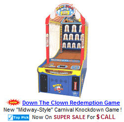 Carnival Style Arcade Games