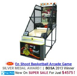 En Shoot Basketball Arcade Machine