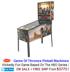 Game Of Thrones Pinball Machines For Sale