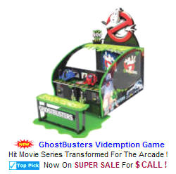 Ticket Redemption Shooting Arcade Games  - Ghost Busters