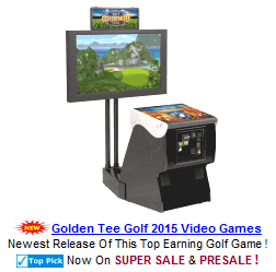 Golden Tee Golf 2015 Video Golf Games