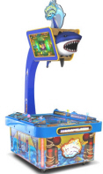 Harpoon Lagoon Videmption Arcade Game