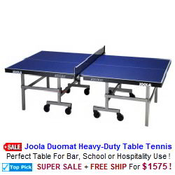 Ping Pong Tables / Table Tennis Tables