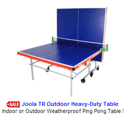 New Arcade Sports Game For Sale : Joola TR Ping Pong / Table Tennis Game