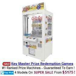 Key Master Prize Redemption Game
