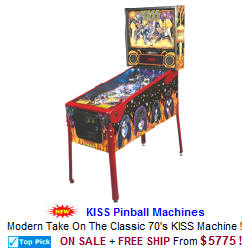 KISS Pinball Machines For Sale From Stern Pinball