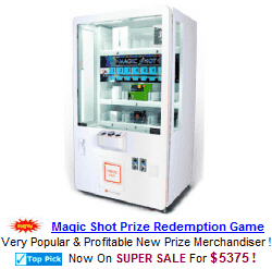 Prize Redemption Arcade Machines