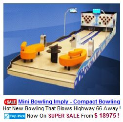 Imply Mini Bowling Alleys | Mini Bowling Lanes