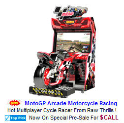 MotoGP Motocycle Racing Video Arcade Games