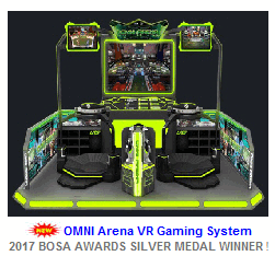 New VR Arcade Game For Sale : Omni Arena VR Arcade Game System