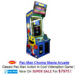 Video Redemption Arcade Machines