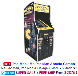 Classic Video Arcade Games / Retro Video Arcade Machines