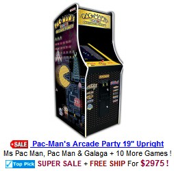 Pac Man Arcade Party Video Arcade Game