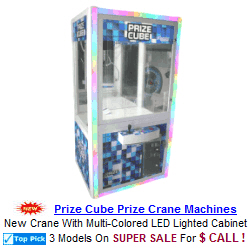 arcade crane machine games