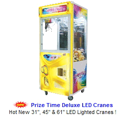 Claw Machines / Crane Machines / Arcade Claw Crane Games