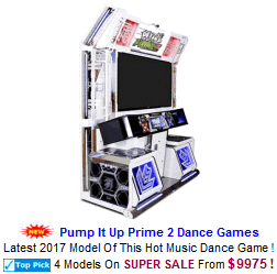 New Video Arcade Game For Sale : Pump It Up Prime 2 Dance Machines