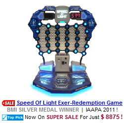 Speed Of Light Redemption Arcade Game