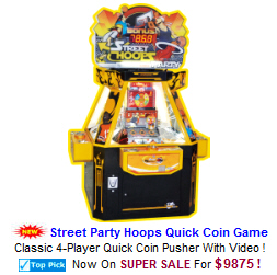 Coin Pushers / Quick Coin Redemption Arcade Games