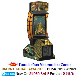 Temple Run Video Arcade Game / Videmption Game