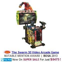 The Swarm 3D Video Arcade Game