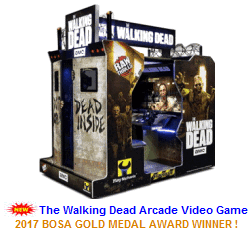 Video Arcade Shooting Games / The Walking Dead Arcade Machine