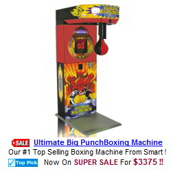 Boxing Arcade Games and Boxing Machines