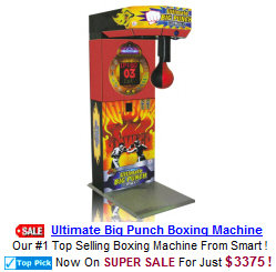 Boxing Arcade Games / Coin Operated Boxing Machines