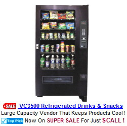 Drink and Snack Vending Machines