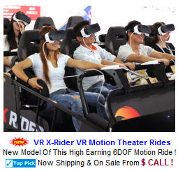 VR / Virtual Reality Simulators / Commercial VR Motion Theater Rides
