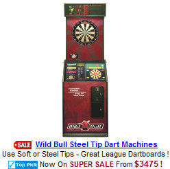 League Style Bar Dartboard Machines