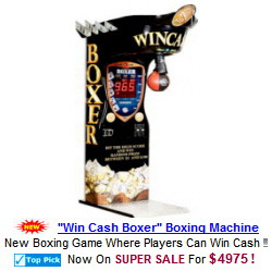 Win Cash Boxer Prize Boxing Machine