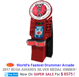 Drum Arcade Machines / Drumming Video Arcade Games