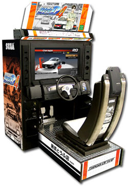 Initial D4 Deluxe Model By Sega From BMI Gaming