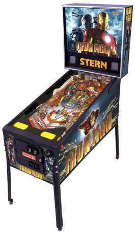 Iron Man / Iron Man Pinball Machine From Stern Pinball