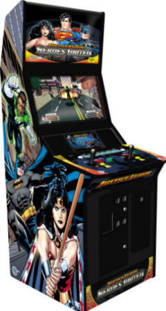 Discontinued Product Justice League Video Arcade Game