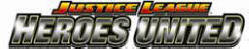 Justice League : United Heroes Video Arcade Game Logo 2