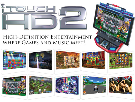 iTouch HD2 Software - New Games List - Logo