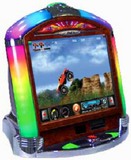 JVL Retro Countertop Touchscreen Video Game