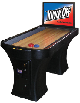 Knock Off Shuffleboard Machine - Virtual Shuffleboard Game From Arachnid Darts
