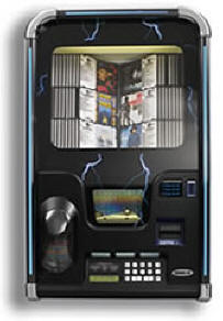 LaserStar Storm CD Jukebox By Rowe  | From BMI Gaming : Global Supplier Of Arcade Games, Arcade Machines and Amusements: 1-866-527-1362