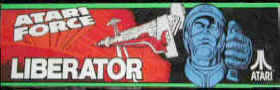 Liberator Video Game - Atari 1982