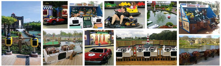 Tornado International Coin Operated Boats, Rides and Amusements